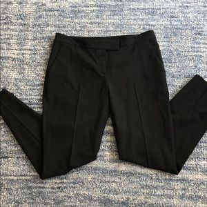 Theory black wool dress slacks, size 6